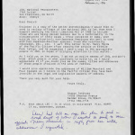Letter from Sharon Tanihara to Cheryl, JACL National Headquarters, August 20, 1990
