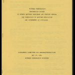 Witness preparation information packet to submit written testimony and testify before the Commission on Wartime Relocation and Internment of Civilians