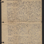 Letter from Grace to Poots and Dad, April 4, 1938