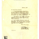 Letter from Theodore K. Ryan, Sanitary Engineer, War Relocation Authority, June 9, 1943