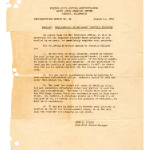 Administrative notice, no. 23 (August 11, 1942)