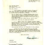 Letter from Fumio Fred Takano to Florence Packer, March 30, 1942