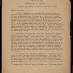 Community analysis note, no. 2 (February 29, 1944): Engagement and marriage customs in a relocation center